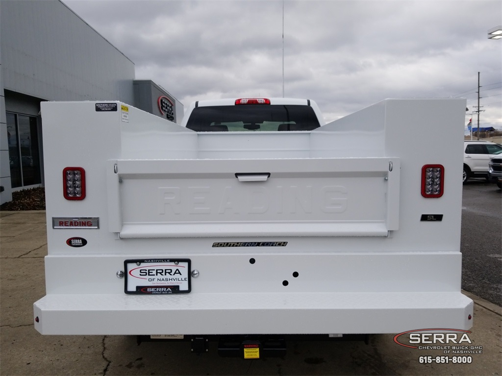 2019 Sierra 2500 Extended Cab 4x2,  Reading Service Body #C92495 - photo 7