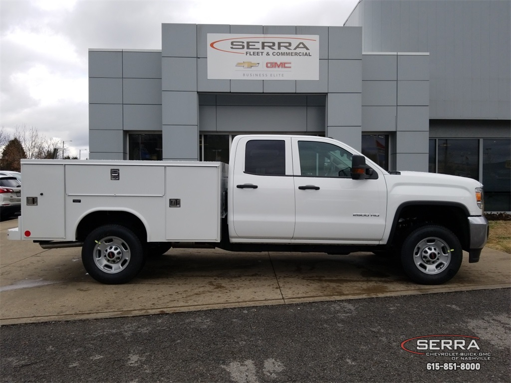 2019 Sierra 2500 Extended Cab 4x2,  Reading SL Service Body #C92495 - photo 8