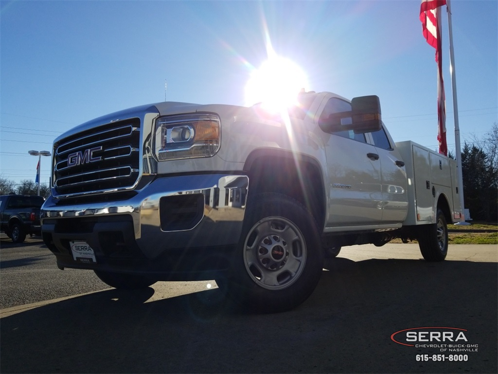 2019 Sierra 2500 Extended Cab 4x2,  Warner Select II Service Body #C92505 - photo 16