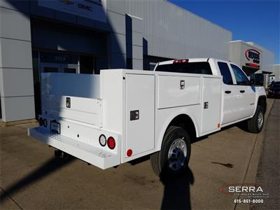 2019 Sierra 2500 Extended Cab 4x2,  Warner Select II Service Body #C92505 - photo 2