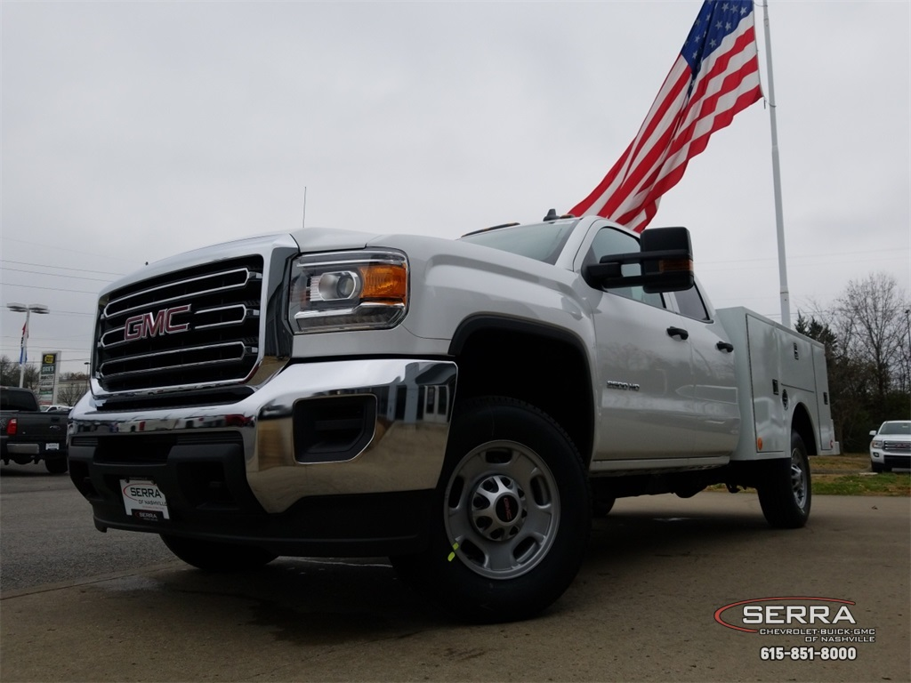 2019 Sierra 2500 Extended Cab 4x2,  Warner Select II Service Body #C92528 - photo 16