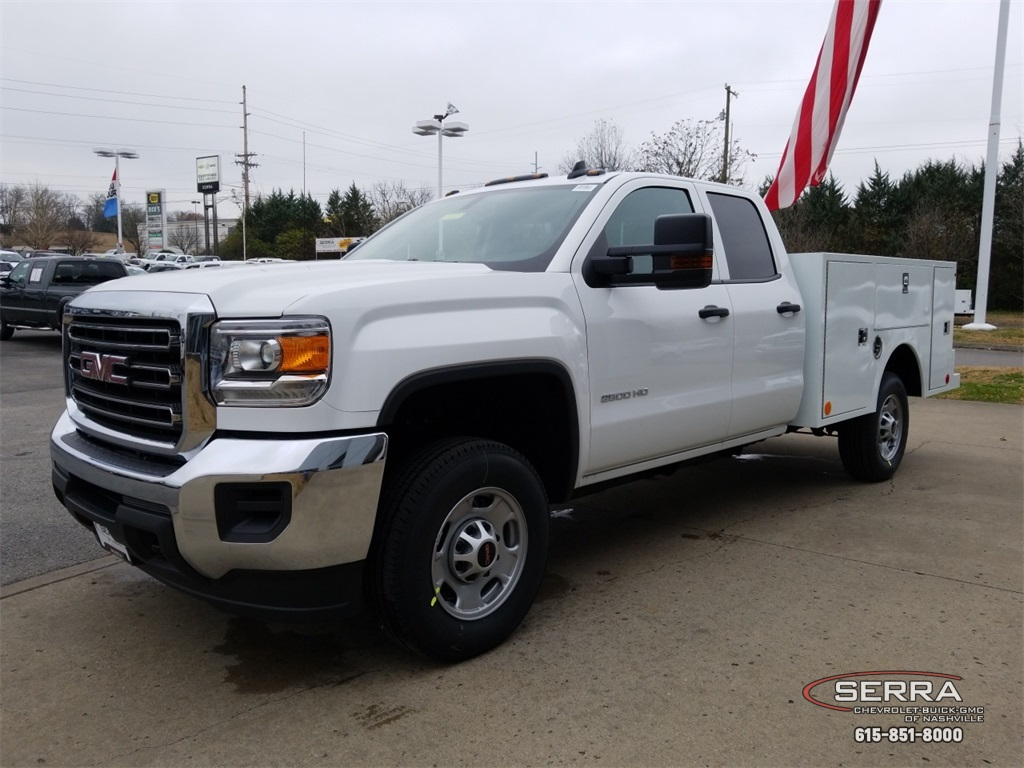 2019 Sierra 2500 Extended Cab 4x2,  Warner Select II Service Body #C92528 - photo 4