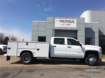 2019 Sierra 3500 Crew Cab DRW 4x2,  Knapheide Standard Service Body #C92949 - photo 12
