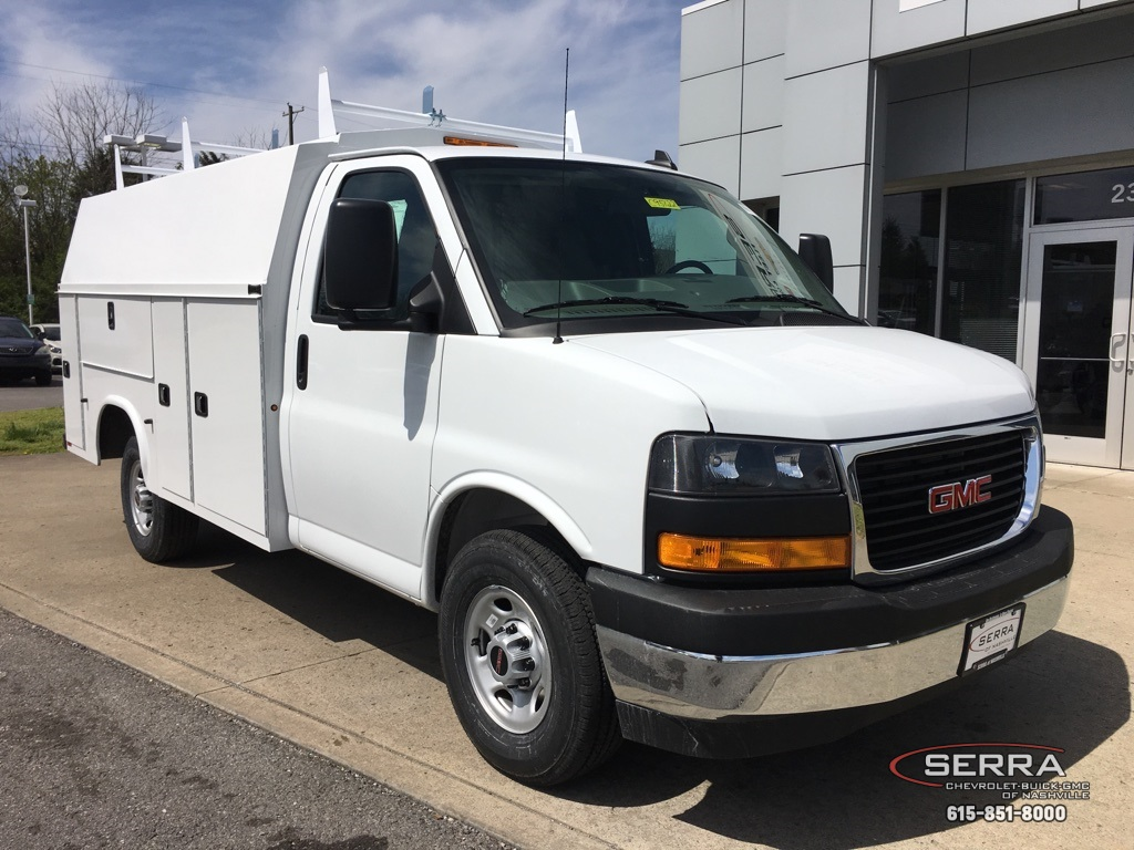 2019 Savana 3500 4x2,  Knapheide Service Utility Van #C95122 - photo 1