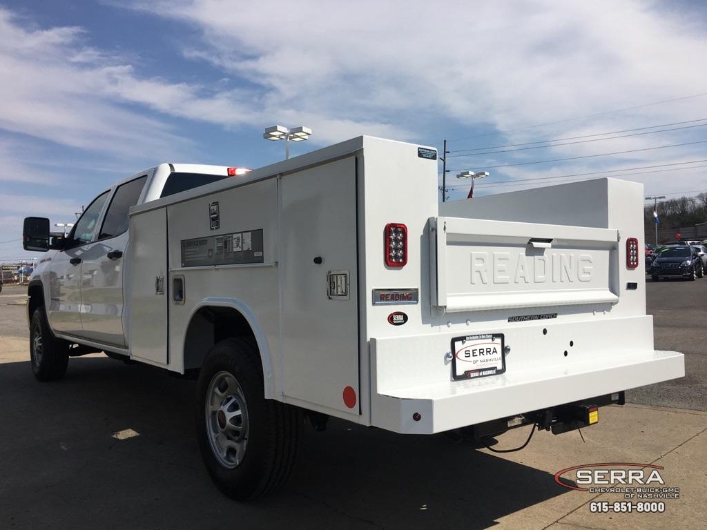 2019 Sierra 2500 Crew Cab 4x2,  Reading SL Service Body #C95130 - photo 9