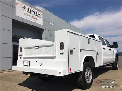 2019 Sierra 2500 Crew Cab 4x2,  Reading SL Service Body #C95130 - photo 2