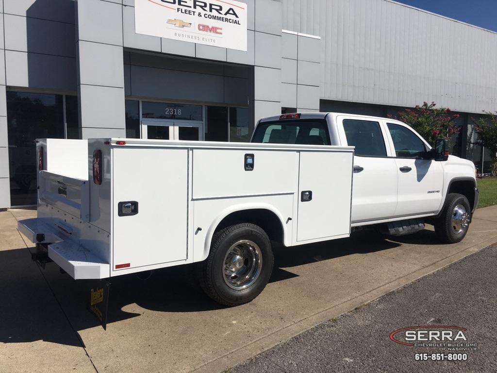 2019 Sierra 3500 Crew Cab DRW 4x4,  Knapheide Standard Service Body #C96337 - photo 2
