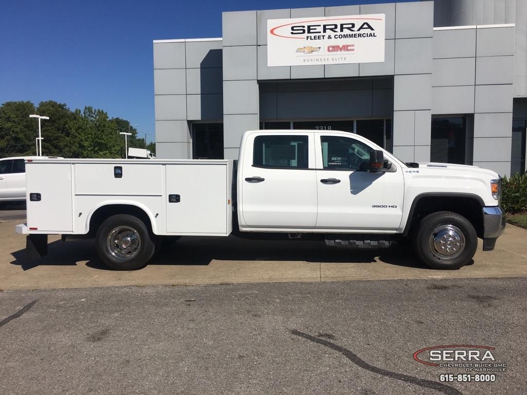2019 Sierra 3500 Crew Cab DRW 4x4,  Knapheide Standard Service Body #C96337 - photo 7