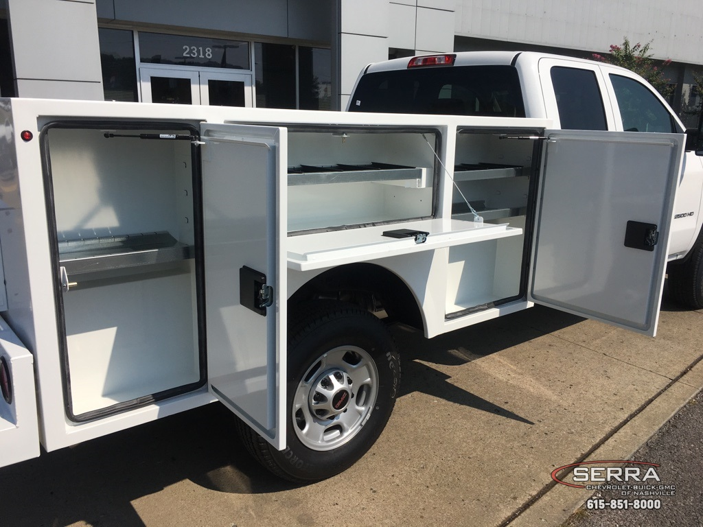 2019 Sierra 2500 Extended Cab 4x2, Warner Select Pro Service Body #C96343 - photo 10