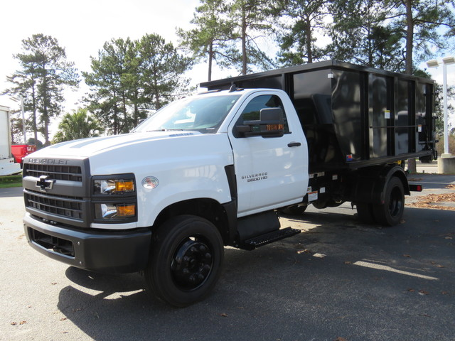 2019 Silverado 4500 Regular Cab DRW 4x2, Switch N Go Hooklift Body #N192457 - photo 4