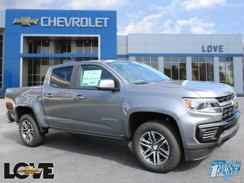 2021 Chevrolet Colorado Crew Cab RWD, Pickup #N210103 - photo 1