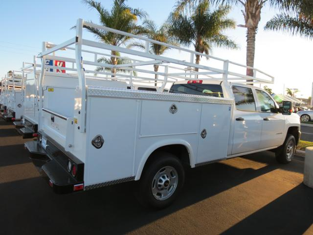 2015 Silverado 2500 Crew Cab, Service Body #T151450 - photo 2