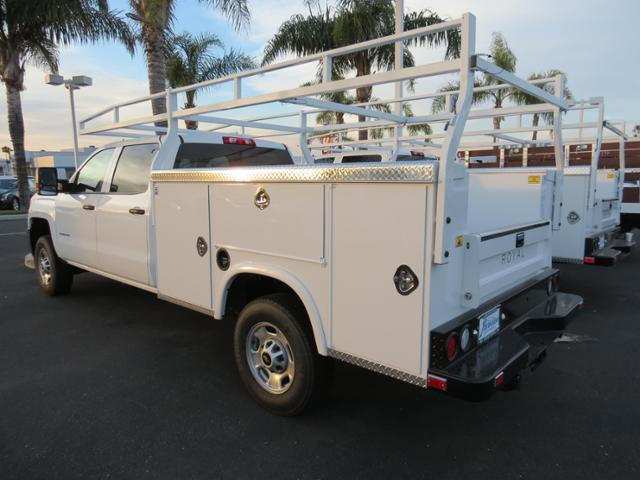 2015 Silverado 2500 Crew Cab, Service Body #T151540 - photo 4