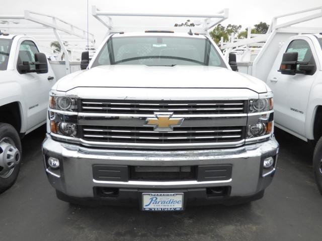 2017 Silverado 3500 Regular Cab DRW 4x2,  Harbor Standard Contractor Body #T171097 - photo 3