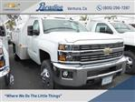 2017 Silverado 3500 Regular Cab DRW 4x2,  Harbor Standard Contractor Body #T171097 - photo 1