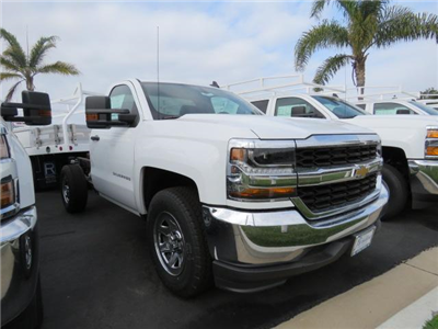 2017 Silverado 1500 Regular Cab Cab Chassis #T171115 - photo 3