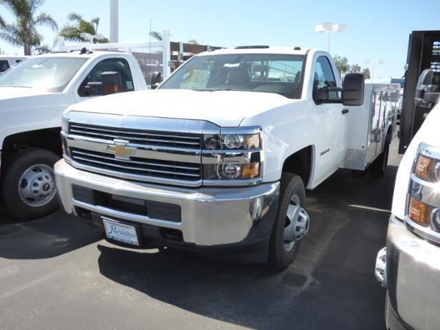2017 Silverado 3500 Regular Cab DRW 4x2,  Service Body #T171129 - photo 3