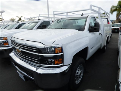 2017 Silverado 2500 Regular Cab 4x2,  Royal Service Bodies Service Body #T171166 - photo 3