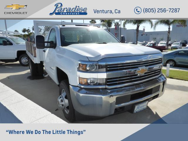 2017 Silverado 3500 Regular Cab DRW 4x2,  Royal Stake Bed #T171167 - photo 1