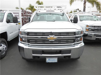 2017 Silverado 3500 Regular Cab DRW, Royal Contractor Bodies Contractor Body #T171244 - photo 3