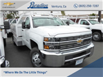 2017 Silverado 3500 Regular Cab DRW, Royal Contractor Bodies Contractor Body #T171244 - photo 1