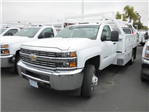 2017 Silverado 3500 Regular Cab DRW, Royal Contractor Bodies Contractor Body #T171244 - photo 2