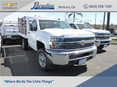 2017 Silverado 2500 Regular Cab 4x2,  Royal Stake Bed Bodies #T171245 - photo 1