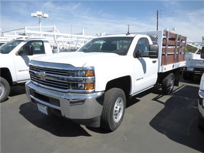 2017 Silverado 2500 Regular Cab 4x2,  Royal Stake Bed Bodies #T171245 - photo 3