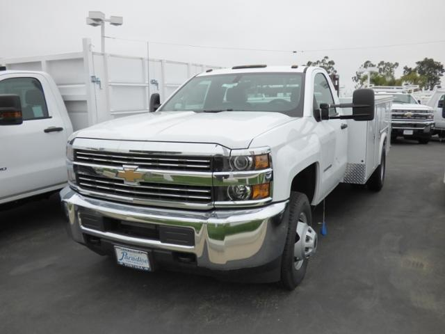 2017 Silverado 3500 Regular Cab DRW 4x2,  Royal Service Body #T171309 - photo 2