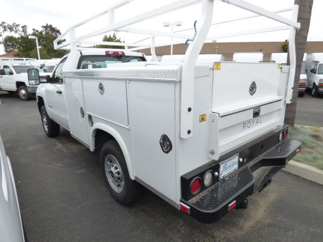 2017 Silverado 2500 Regular Cab,  Royal Service Bodies Service Body #T171320 - photo 2