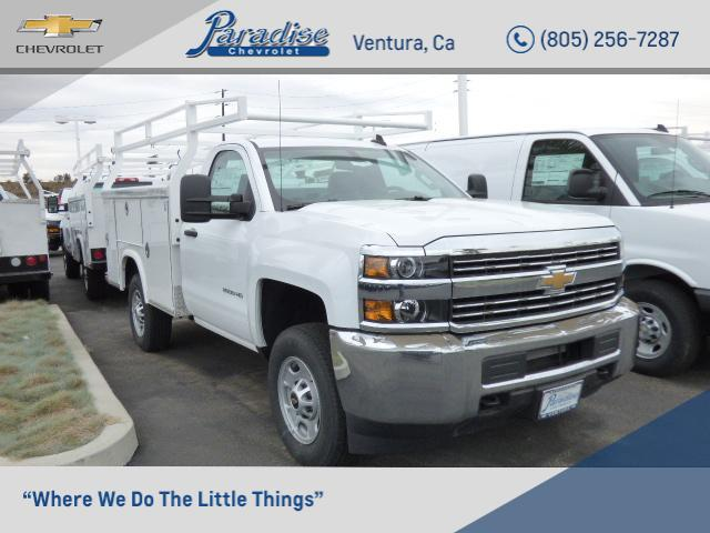 2017 Silverado 2500 Regular Cab,  Royal Service Bodies Service Body #T171320 - photo 1