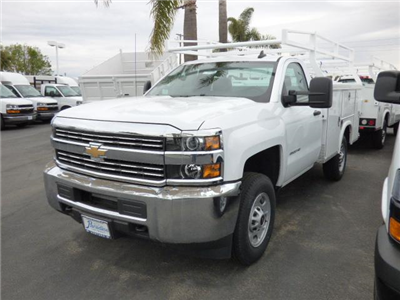 2017 Silverado 2500 Regular Cab,  Royal Service Bodies Service Body #T171320 - photo 3