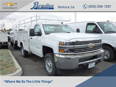 2017 Silverado 2500 Regular Cab 4x2,  Royal Service Body #T171320 - photo 1