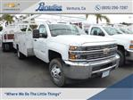 2017 Silverado 3500 Regular Cab DRW 4x2,  Harbor ComboMaster Combo Body #T171364 - photo 1
