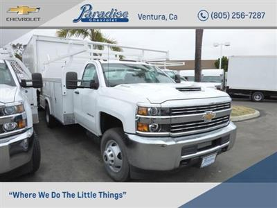 2017 Silverado 3500 Regular Cab DRW 4x2,  Royal Service Combo Body #T171376 - photo 1