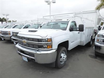 2017 Silverado 3500 Regular Cab DRW 4x2,  Royal Service Combo Body #T171376 - photo 2