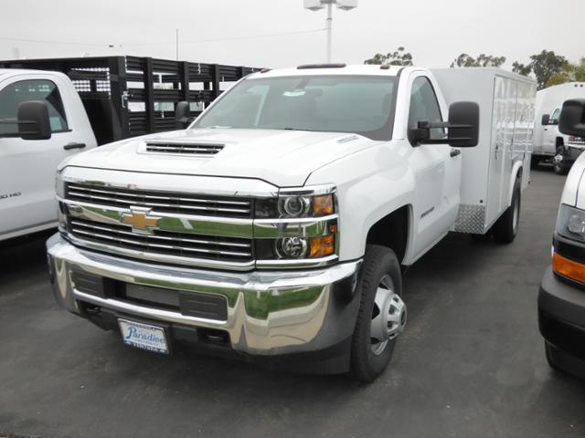 2017 Silverado 3500 Regular Cab DRW,  Royal Service Bodies Service Body #T171378 - photo 2