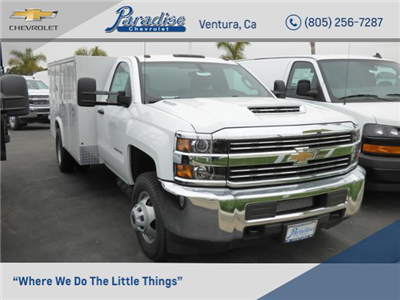 2017 Silverado 3500 Regular Cab DRW,  Royal Service Bodies Service Body #T171378 - photo 1