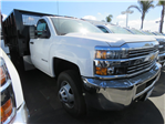 2017 Silverado 3500 Regular Cab DRW 4x2,  CM Truck Beds PL Model Landscape Dump #T171503 - photo 1