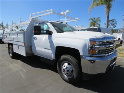 2017 Silverado 3500 Regular Cab DRW 4x2,  Harbor Standard Contractor Body #T171511 - photo 1