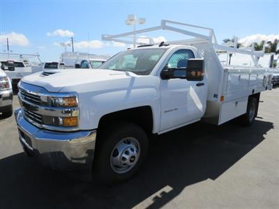 2017 Silverado 3500 Regular Cab DRW 4x2,  Harbor Standard Contractor Body #T171511 - photo 5