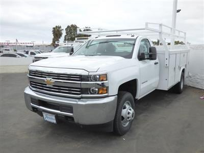 2017 Silverado 3500 Regular Cab DRW 4x2,  Royal Service Body #T171562 - photo 3