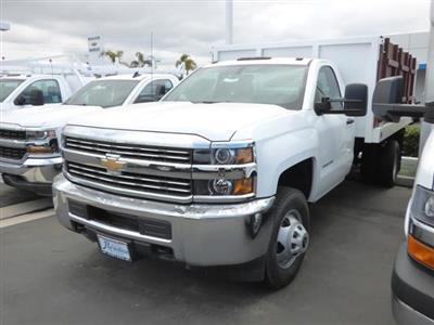 2017 Silverado 3500 Regular Cab DRW 4x2,  Royal Landscape Dump #T171588 - photo 2