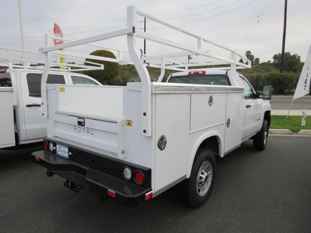 2017 Silverado 2500 Regular Cab, Royal Service Bodies Service Body #T17454 - photo 2