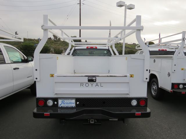 2017 Silverado 2500 Regular Cab, Royal Service Bodies Service Body #T17454 - photo 3
