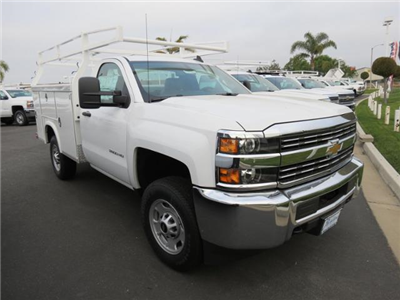 2017 Silverado 2500 Regular Cab, Royal Service Bodies Service Body #T17454 - photo 1