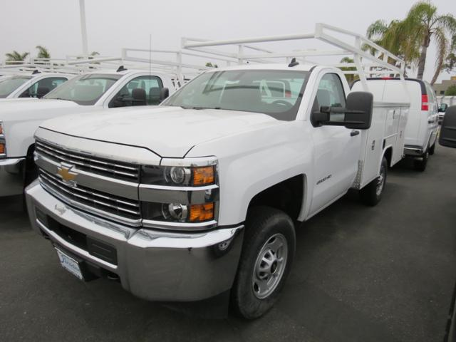 2017 Silverado 2500 Regular Cab,  Harbor TradeMaster Service Body #T17552 - photo 3