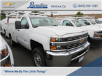 2017 Silverado 2500 Regular Cab,  Harbor TradeMaster Service Body #T17552 - photo 1