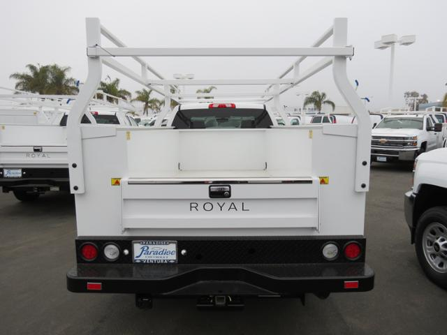2017 Silverado 3500 Crew Cab, Royal Service Body #T17779 - photo 3