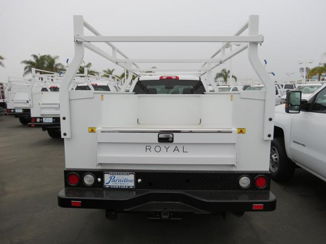2017 Silverado 3500 Crew Cab, Royal Service Body #T17786 - photo 3